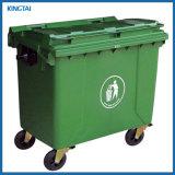 1100L de vuilnisbak, Trach kan, kan de Mobiele Plastic Vuilnisbak