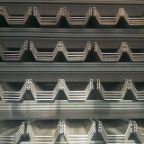Tipo laminato a caldo mucchio del materiale da costruzione U della lamiera di acciaio fatto in Cina