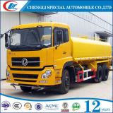 Dongfeng 10の車輪25cbmの燃料のタンカー