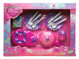 Interesante plástico de los niños conjunto de juguete cocina