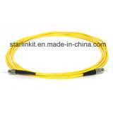 FC/St de Duplex Enige Kabel van het Koord van het Flard van de Vezel van de Wijze Optische