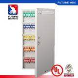 Шкаф металла высокого качества ключевой к хранению, котор ключи с ключевыми крюками внутри фиксируют вне