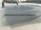 Gavanized Wire Mesh para caixas de gabião