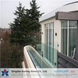 強くされる取り除くか、またはまたは建物のための和らげられた薄板にされたガラス浮かべなさい