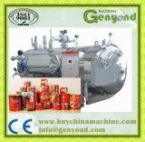 Esterilizador de vapor com água quente
