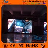 Écran polychrome d'intérieur de haute résolution de P4 DEL