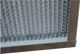 深いプリーツによって電流を通される鉄骨フレームHEPAのエアー・フィルタH13/H14