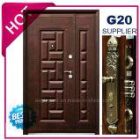 Porta de aço da segurança do metal exterior da qualidade 2017 superior (EF-S104ZM)