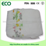 Constructeurs d'une pente en Chine des couches-culottes bon marché somnolentes de bébé