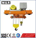 Grue à chaînes électrique de câble métallique avec vitesse simple/double