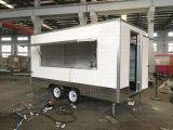De mobiele Aanhangwagen van de Snack van de Caravan van Shawarma van het Roomijs Commerciële