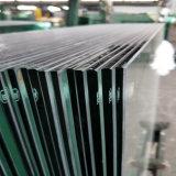 Doppelter ausgeglichener lamelliertes Glas-Zaun