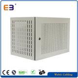 540mm de largura de rack de servidor Gabinete montado na parede com porta frontal perfurada