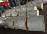 左手の位置のUngalvanizedの鋼線ロープ6X19s+FC