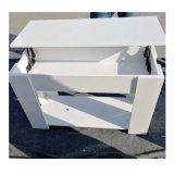 도매 Fancy White Sidetable 및 Coffee Table