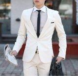 Terno de vestido do casamento para lãs dos homens 100%