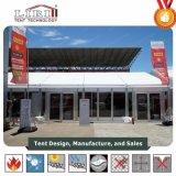 スポーツ・イベントのための移動可能な鋼鉄テントの防水および反紫外線玄関ひさしのテント