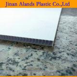 strato di plastica ondulato bianco 6mm 48 '' *96 '' di 4mm