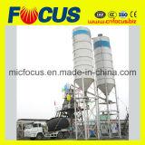 Zufuhrbehälter-führender Typ des Zeilensprung-50m3/H stationäre konkrete Mischanlage