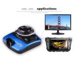 2.4 Zoll 1080P HD 140° Kamera-Video des Gedankenstrich-Nocken-Auto-DVR
