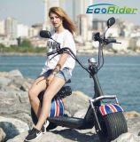 La meilleure moto électrique électrique du scooter 1000W de la CEE Certficate Citycoco Harley de qualité