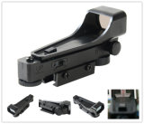 Mini-Red Dot Sight 1X20X30 Âmbito Rifle W/10mm Suportes Weaver