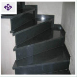 Lastre nere resistenti all'acido naturali del granito del Hebei per i materiali da costruzione