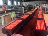 108PCS 1W/3W 높은 광도 LED 도시 밤 LED 세척 빛