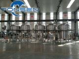 完全なビール工場のためのセリウムPED LVDによって証明される300L 500L 800L 1000L 2000Lビール醸造装置を渡しなさい