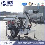 Machine hydraulique portative de foret de puits d'eau de Hf120W