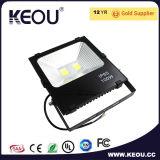 Ce/RoHS IP65 impermeabilizan la fábrica del poder más elevado de la luz de inundación del LED