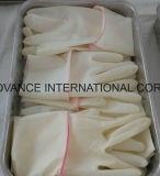 Pulverisierte oder Puder-frei steriler Latex-chirurgische Wegwerfhandschuhe