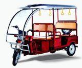 Rickshaw Hot-Selling électrique dans l'Inde, Rickshaw Fonctionnement de la batterie