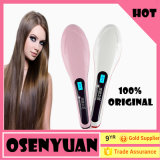 Professionnel avec l'écran LCD Beauty Hair Straightener Brush