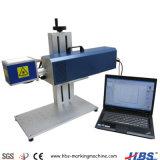 machine de marquage au laser CO2 30W à la volée de bureau