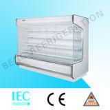 Frigorifero aperto di caso di visualizzazione del dispositivo di raffreddamento di vendita calda per la bevanda fredda