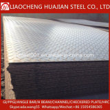 Aucun traitement de surface Q235 en acier de qualité de la plaque à damier