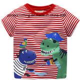 多彩な夏の不足分の袖の子供の衣服