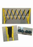 Porta expansível plástica da barreira de segurança do tráfego