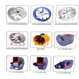 Ventiladores de fluxo axial de Yuton para fluxos e altas pressões do volume alto