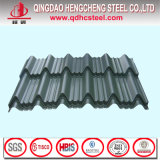 Colorer la tôle d'acier ondulée en métal pour le panneau de toiture