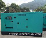200kVA 160kw Reservekinetik-BRITISCHER Motor-leiser Typ Diesel-Generator