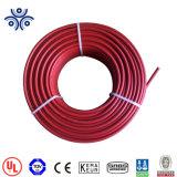 De rode of Zwarte PV van de Kleur Kabel van het Zonnepaneel van de Kabel