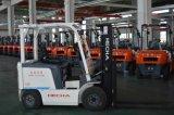 3 de Vierwielige Elektrische Batterij In werking gestelde Vorkheftruck Cpd15 van de ton