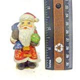 Cijfer van de Kerstman van de hars het Mini voor de Decoratie van Kerstmis