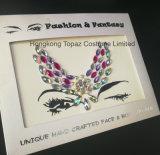 Las alas componen la etiqueta engomada adhesiva del Rhinestone de la etiqueta engomada de la bóveda de la etiqueta engomada del tatuaje de los accesorios (S019)