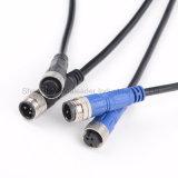 IP67 2-10les broches de signal de puissance de transmission Câble prise étanche pour l'E-Bike