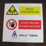 Plaque en aluminium personnaliser l'impression des panneaux de signalisation de circulation réfléchissante