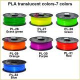 OEM 각종 색깔 1.75mm 플라스틱 PLA 아BS 세륨 아BS 3D 인쇄 기계 소모품 필라멘트