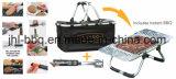 Multi-Funktionen Gitter mit kühlerem Beutel und Standplätze für sofortiges BBQ-Gitter